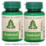 Antiviral Pachet 2 cutii cu 60 comprimate Dacia Plant, image 1