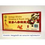 Ginkgo Biloba, Ginseng si Royal Jelly 10 fiole Yong Kang Co & Co, image 1