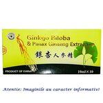 Ginkgo Biloba si Panax Ginseng 10 fiole Sanye Intercom, image