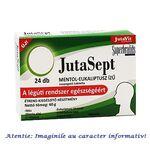 JutaSept Comprimate de Supt cu Mentol si Eucalipt 24 comprimate JutaVit, image 1