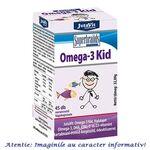 Omega 3 Kid pentru Copii 45 comprimate masticabile JutaVit, image 1