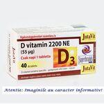 Vitamina D3 2200 UI 40 tablete JutaVit, image 1