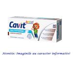 Cavit Junior Multivitamine cu Aroma de Ciocolata 20 tablete masticabile Biofarm, image