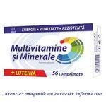 Multivitamine si Minerale + Luteina 56 comprimate Zdrovit, image