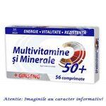 Multivitamine si Minerale cu Ginseng 50+, 56 comprimate Zdrovit, image 1