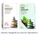 Pachet Antitusin 20 comprimate + Ceai Antitusin 20 plicuri Alevia, image