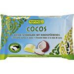 Ciocolata bio alba Cristallino cu bucatele de cocos HIH 100g Rapunzel, image