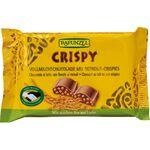 Ciocolata bio cu lapte integral crocanta HIH 100g Rapunzel, image