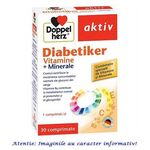 Diabetiker Vitamine si Minerale 30 comprimate DoppelHerz, image
