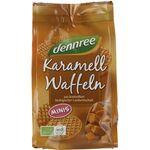 Mini vafe bio cu caramel 150g Dennree, image