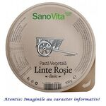 Pasta Vegetala Tartinabila (Pate) din Linte Rosie 100 g SanoVita, image