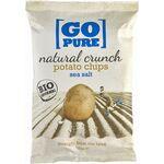 Chipsuri din cartofi cu sare coapte manual 125g Go Pure, image