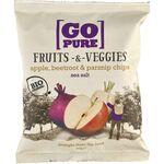 Chipsuri din fructe si legume cu sare de mare 90g Go Pure, image