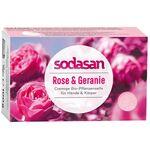 Sapun bio cu trandafir salbatic 100g Sodasan, image