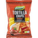 Tortilla chips cu ardei eco 125g Dennree, image