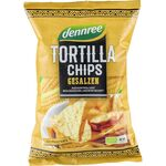 Tortilla chips cu sare eco 125g Dennree, image