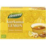 Ceai curcuma si lamaie bio 30g Dennree, image