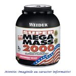 Super Mega Mass 2000 cu Aroma de Vanilie 3 kg Weider, image