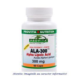 ALA 300 300 mg 60 capsule Provita Nutrition, image