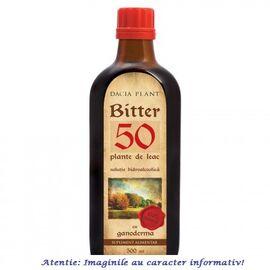 Bitter 50 Plante de Leac cu Ganoderma Tinctura 500 ml Dacia Plant, image