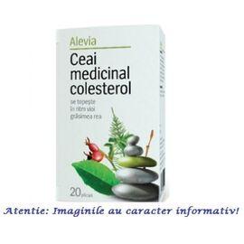 Ceai Colesterol  Medicinal 20 plicuri Alevia, image