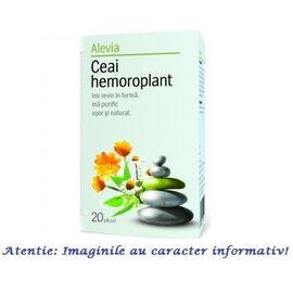 Ceai Hemoroplant 20 plicuri Alevia, image