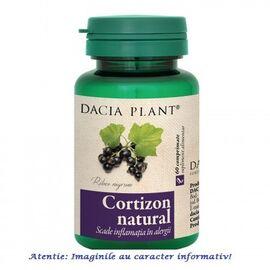 Cortizon Natural 60 comprimate Dacia Plant, image