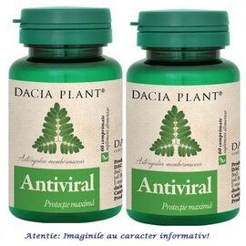 Antiviral Pachet 2 cutii cu 60 comprimate Dacia Plant, image