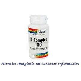 B Complex 100 mg 50 capsule Solaray Secom, image