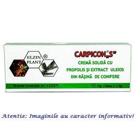 """Carpicon """"S"""" Supozitoare 10 bucati Elzin Plant, image"""