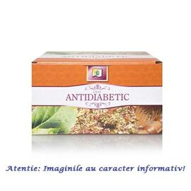 Ceai Antidiabetic 20 plicuri Stef Mar, image