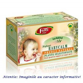 Ceai BabyCalm 20 plicuri Fares, image