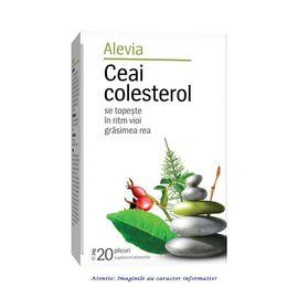 Ceai Colesterol 20 plicuri Alevia, image