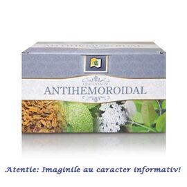 Ceai Antihemoroidal 20 plicuri Stef Mar, image