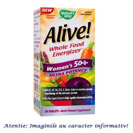 Alive Women's 50+ Ultra 30 tablete Nature's Way Secom, image