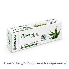 Aloe Plant Gel cu Argint si Aloe Vera 20 ml VivaNatura, image