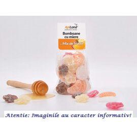 Bomboane cu Miere si Mix de Fructe 100 g Apiland, image