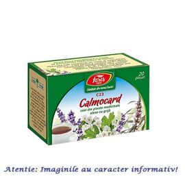 Ceai Calmocard 20 plicuri Fares, image