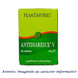 Antidiareice V 40 tablete Plantavorel, image