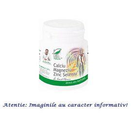 Calciu, Magneziu, Zinc și Seleniu 150 comprimate Pro Natura, image