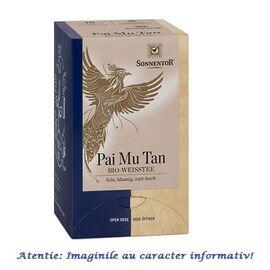Ceai Alb Pai Mu Tan Eco 18 plicuri Sonnentor, image