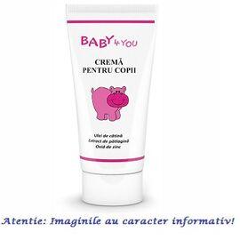 Crema pentru Copii cu Ulei de Catina 50 ml Tis Farmaceutic, image