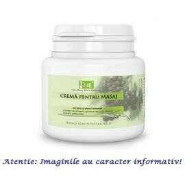 Crema pentru Masaj cu Extracte si Uleiuri Naturale 500 ml Tis Farmaceutic, image