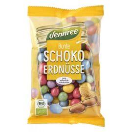 Arahide colorate cu ciocolata de lapte eco 100g Dennree, image