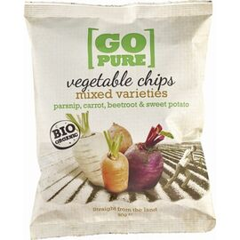 Chipsuri din legume bio 90g Go Pure, image