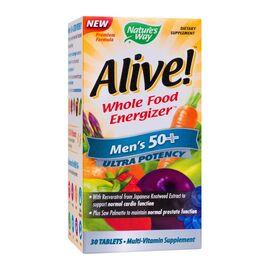 Alive Mens 50+ Ultra 30 tablete Nature's Way Secom, image