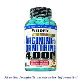 Arginine + Ornithine 4000 180 capsule Weider, image