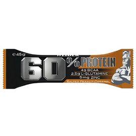 60% Protein Bar (Baton) cu Alune - Caramel 45 g Weider, image