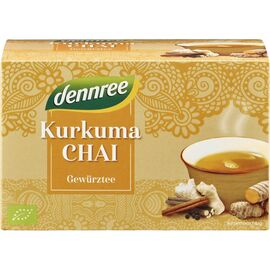 Ceai bio Curcuma Chai 40g Dennree, image
