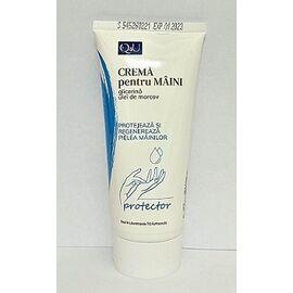 Crema pentru Maini cu Efect Protector cu Glicerina si Ulei de Morcov 100 ml Tis Farmaceutic, image